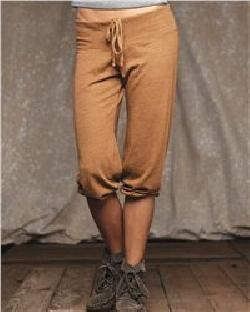 Alternative 1985 Ladies' Eco Jersey Crop Pants