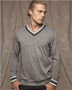 Alternative 9594 Eco Cashmere V-Neck Sweathshirt