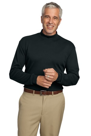 Port Authority® K321 Interlock Knit Mock Turtleneck
