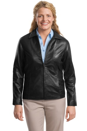 Port Authority® L785 Ladies Park Avenue Lambskin Jacket