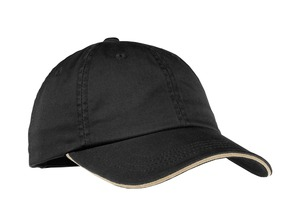Port Authority® LC830 Ladies Sandwich Bill Cap with Striped Closure