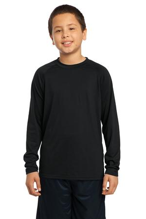 Sport-Tek® YST700LS Youth Long Sleeve Ultimate Performance Crew