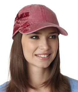 Adams LPLC1-Cotton Pigment-Dyed Resort Lighthouse Coast Cap