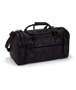 Gemline 4705-Large Executive Simulated Leather Travel Bag