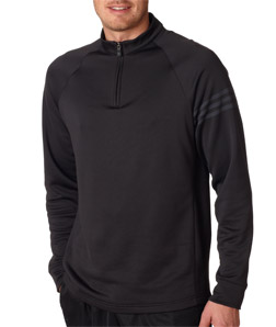 ADIDAS A74 - Men's Performance Half-Zip Training Top