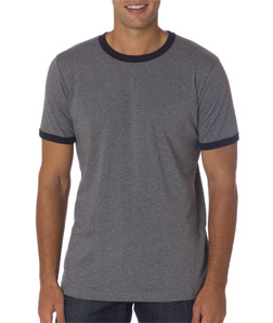 Canvas C3055 - Men's Jersey Ringer Tee