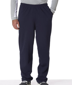Jerzees 974 - Adult NuBlend Open-Bottom Sweatpants with Pockets