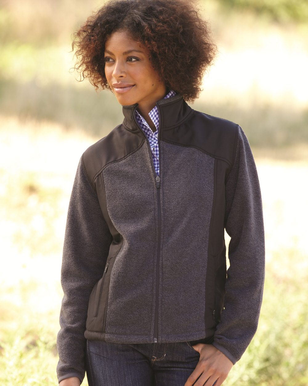 Colorado Clothing 7116 - Ladies' Telluride Nylon/Polarfleece Jacket