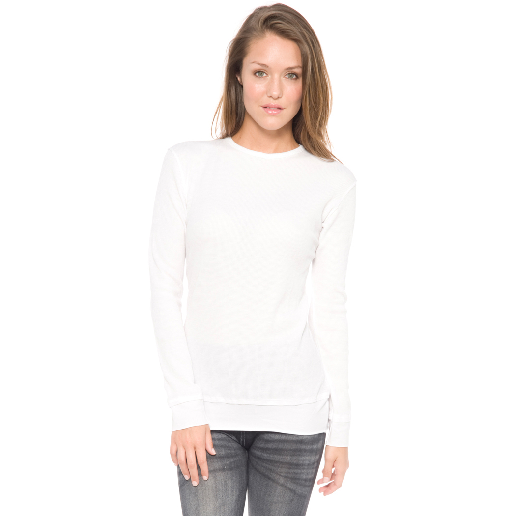 In Your Face F01 - Ladies Layered Look Long Sleeve Baby Thermal