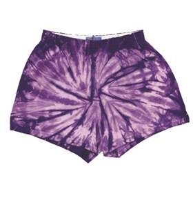 Colortone T4000Y - Spider Tie Dye Soffe Youth Shorts