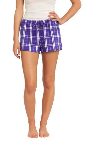 District -Juniors Flannel Plaid Boxer. DT2801