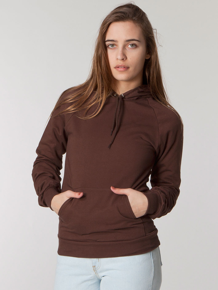 American Apparel 5495 - California Fleece Pullover Hoody