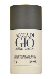 Giorgio Armani Acqua Di Gio Alcohol Free Deodorant Stick For Men 2.6 oz.