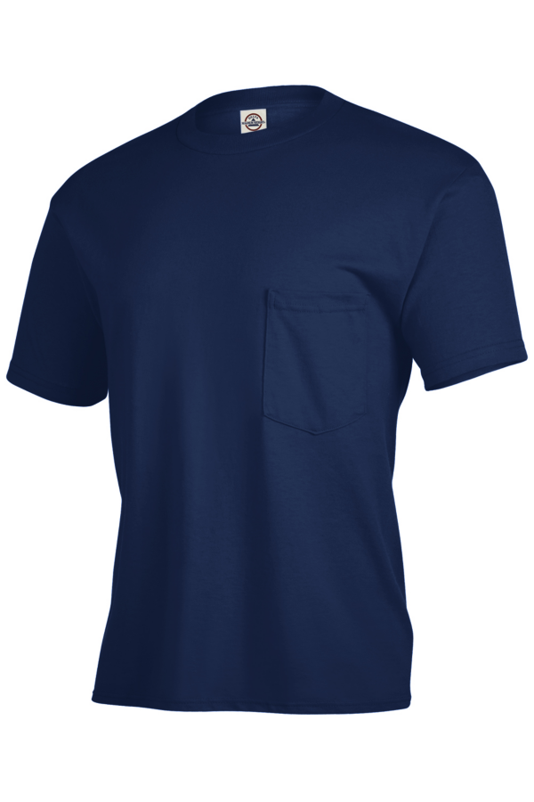 Delta Apparel 65732 - Pocket T-shirt Magnum Weight 6.0 oz