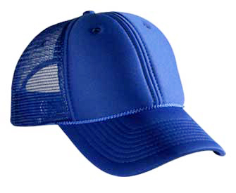 Polyester foam front solid and two tone color six panel low profile pro style mesh back caps
