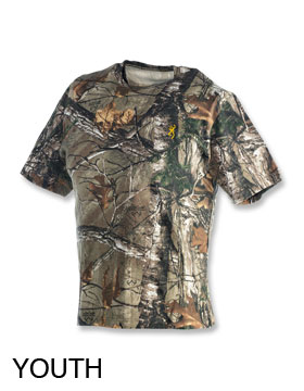 Browning 30113624 - Youth Wasatch Short Sleeve Tee