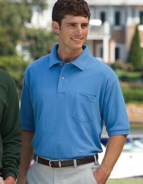 Inner Harbor 7002 - Mainsail Pique Polo with Pocket