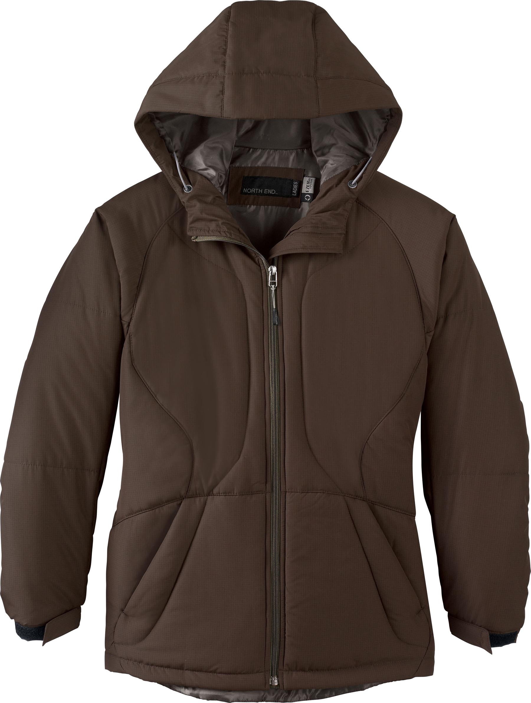 Ash City UTK 3 Warm.Logik 78082 - Ladies Polyester Ripstop Insulated Jacket With Hood