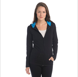 IYF A36 Misses Yoga Zip Hood