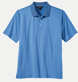 Brooks Brothers BR2100 Solid Jersey Polo