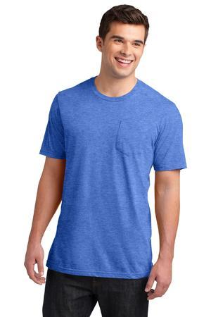 District DT6000P Young Mens Very Important Tee with Pocket