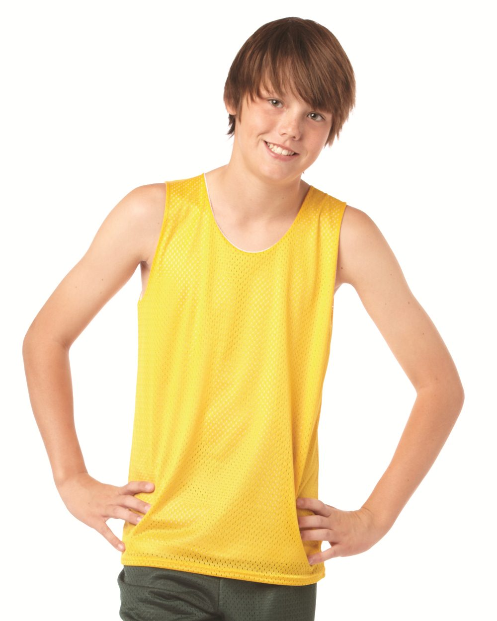 Badger Sport 2529 Youth Pro Mesh Reversible Tank Top
