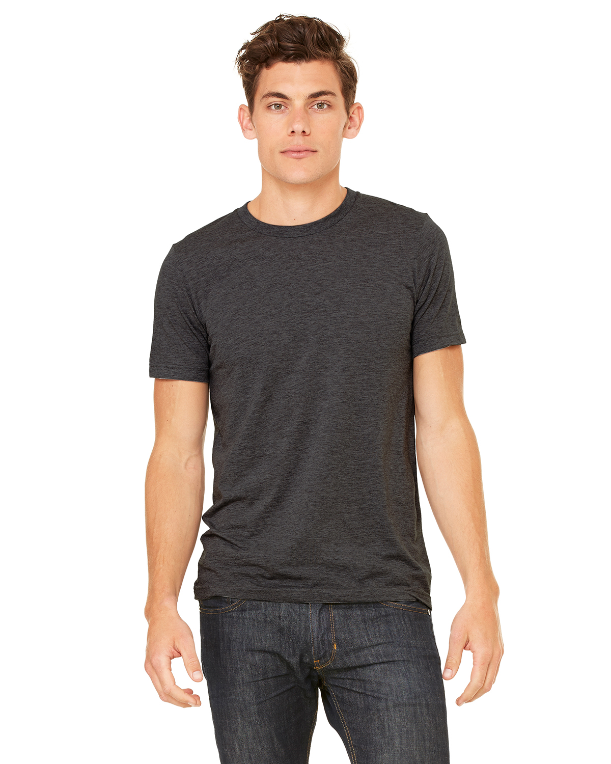 Canvas 3413 Howard Tri-blend Short Sleeve T-Shirt
