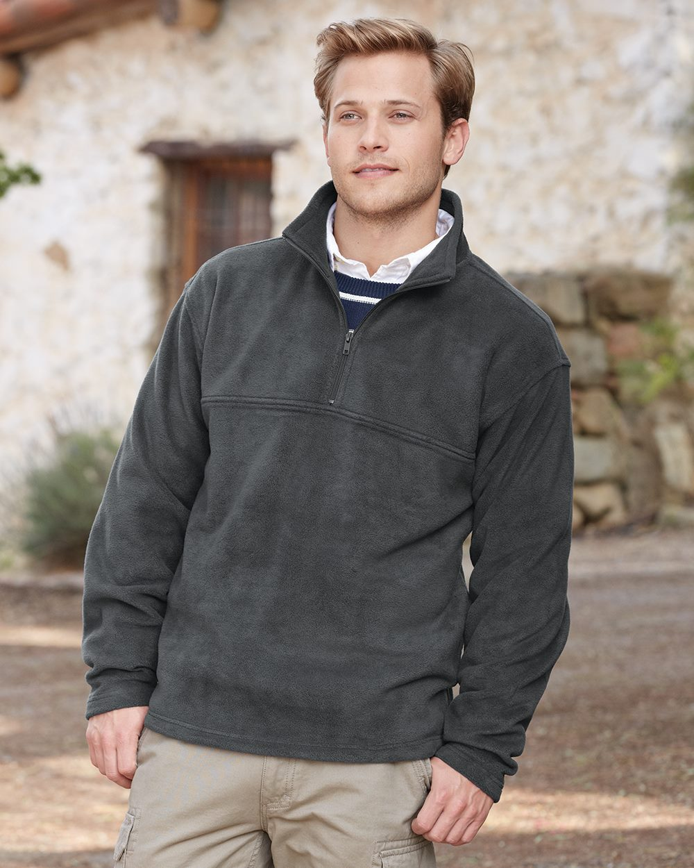 Colorado Clothing 9630 - Sport Fleece Quarter Zip Pullover