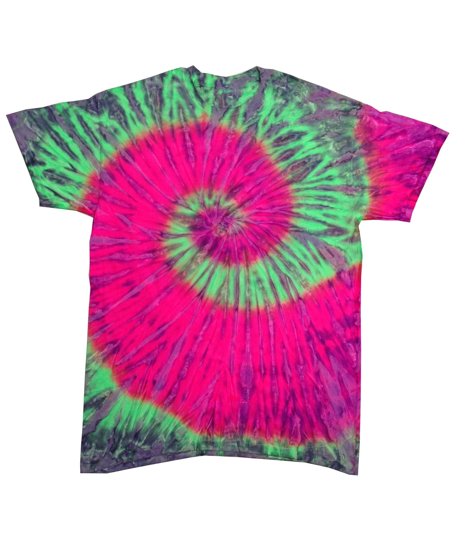 Colortone - T380P Watermelon Short Sleeve Tie Dye