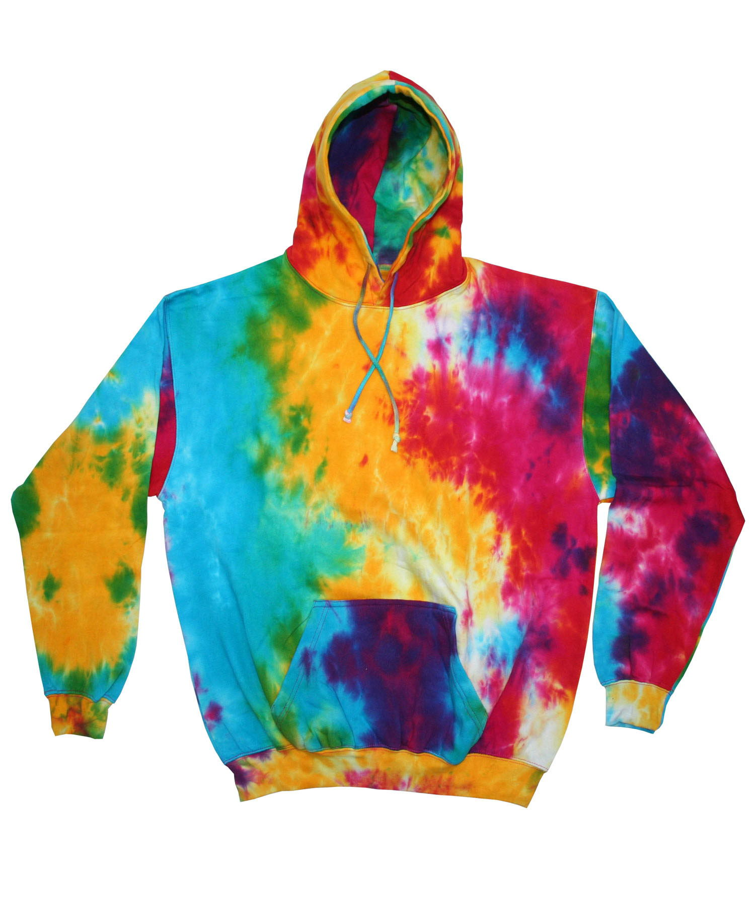 Colortone - T968R Youth Rainbow Hoodie