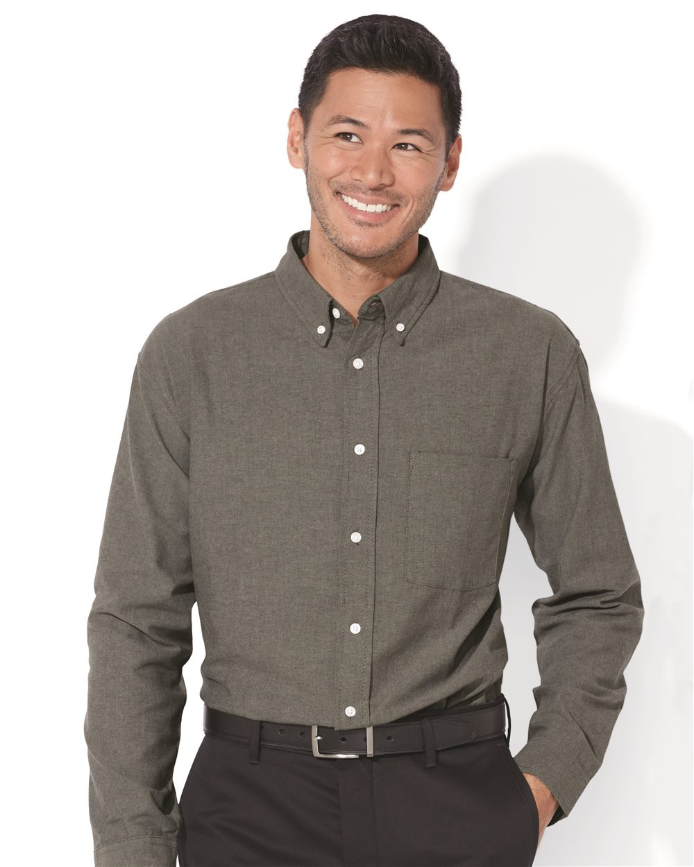 FeatherLite 3231 Long Sleeve Oxford Shirt