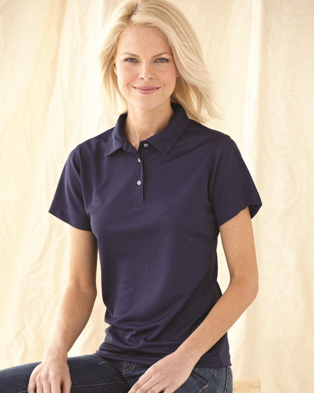 FeatherLite 5469 Ladies' Moisture Free Pique Sport Shirt