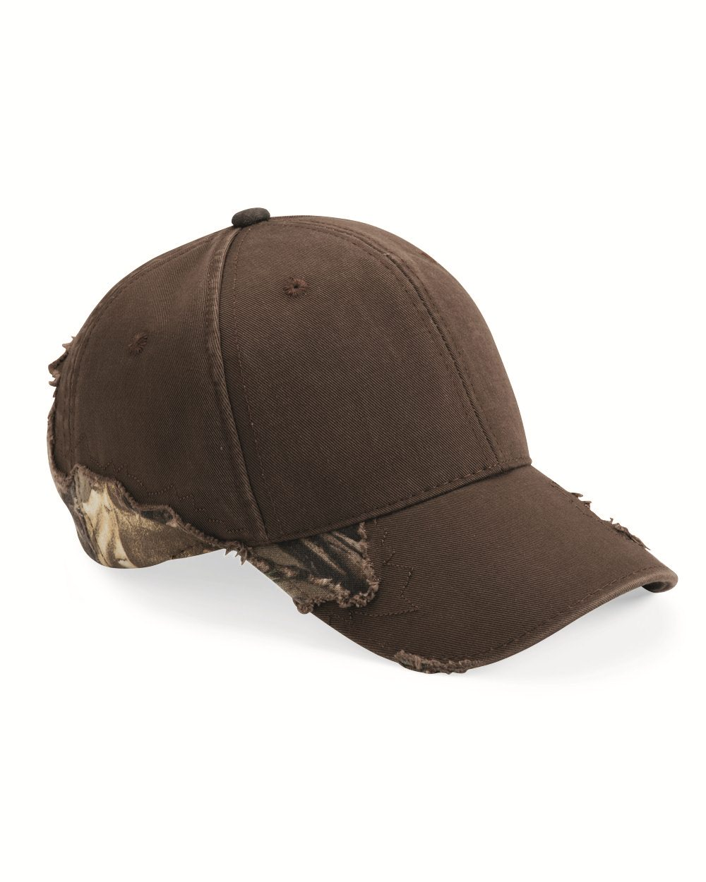 Outdoor Cap BSH350 Frayed Camouflage Cap