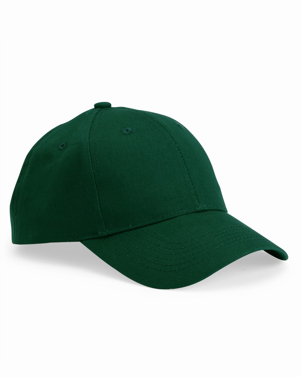 Valucap VC100 Lightweight Structured Cotton Twill Cap with Plastic Tab Closure
