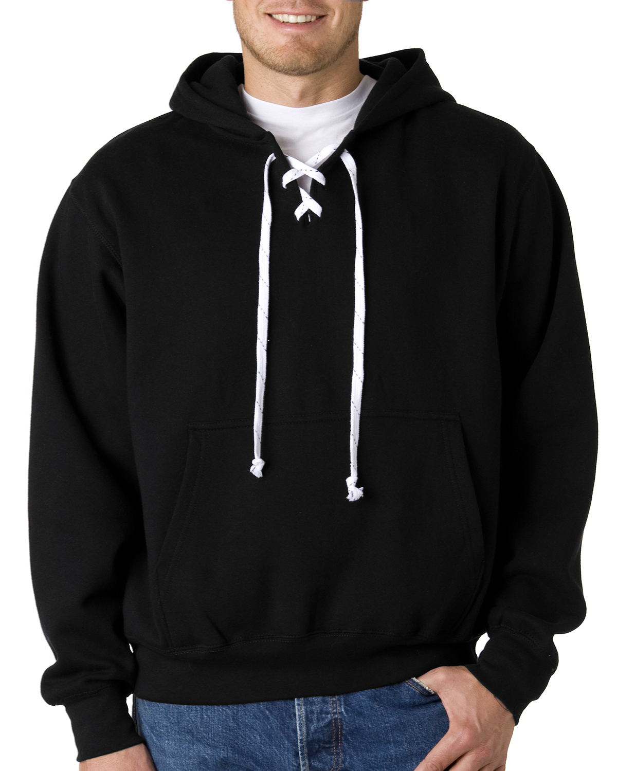 Weatherproof 7476 Hooded Hockey Sweatshirt