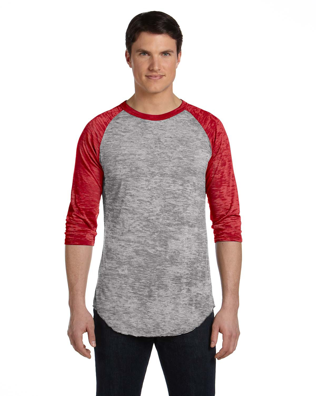 Alternative AA2640  Big League Burnout Baseball Tee