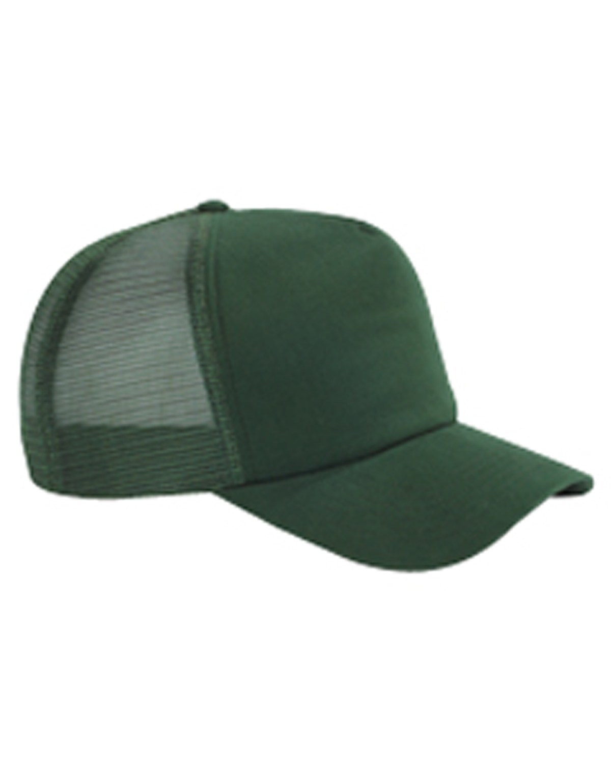 Big Accessories BX010  5-Panel Twill Trucker Cap