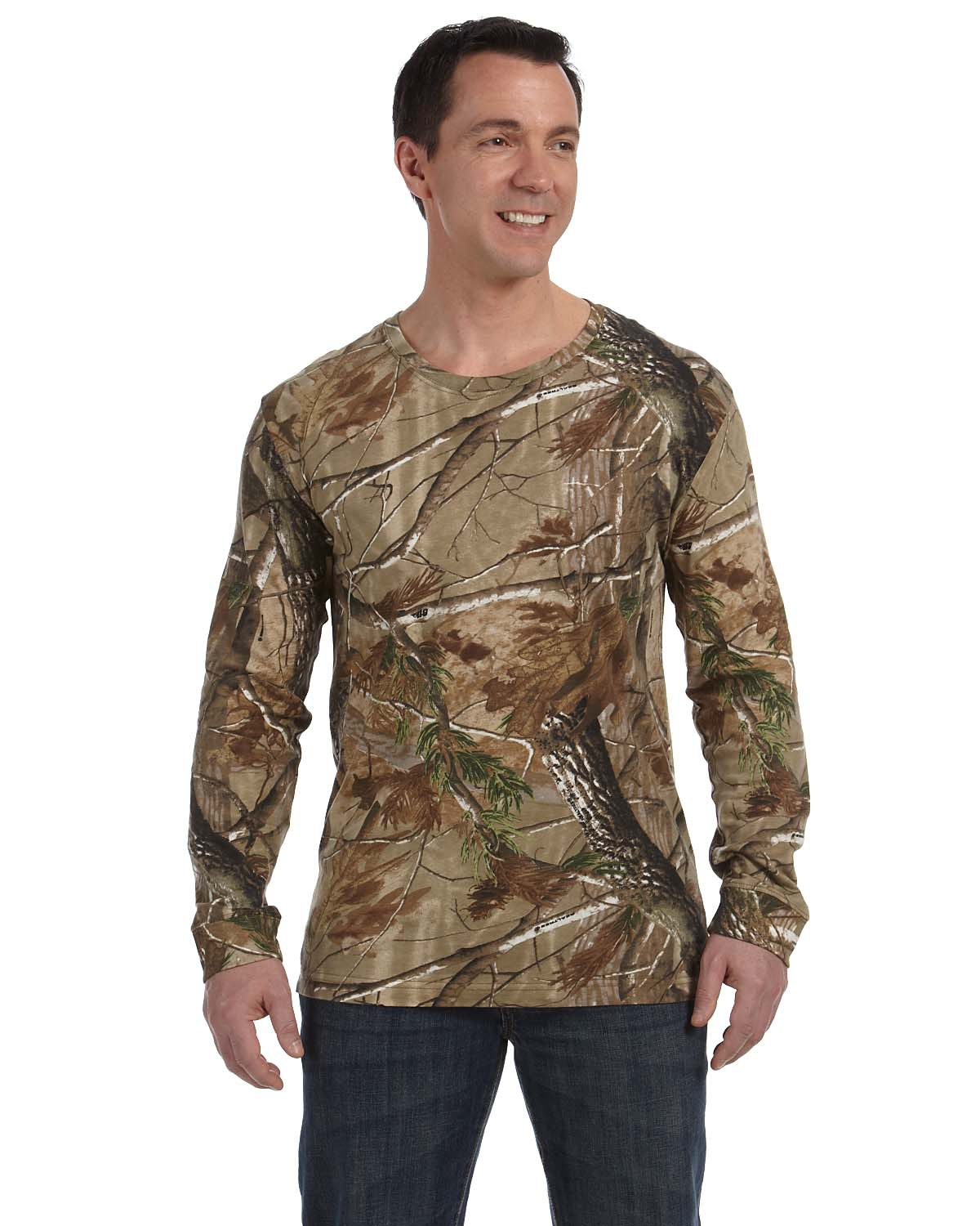 Code V 3981 - Camouflage Long Sleeve T-Shirt