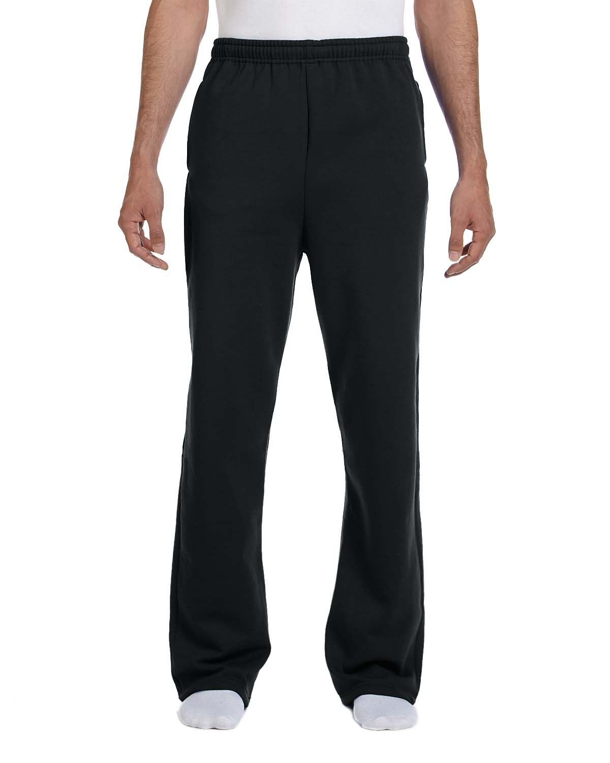 Jerzees 974MP  50/50 Fleece Open-Bottom Sweatpants