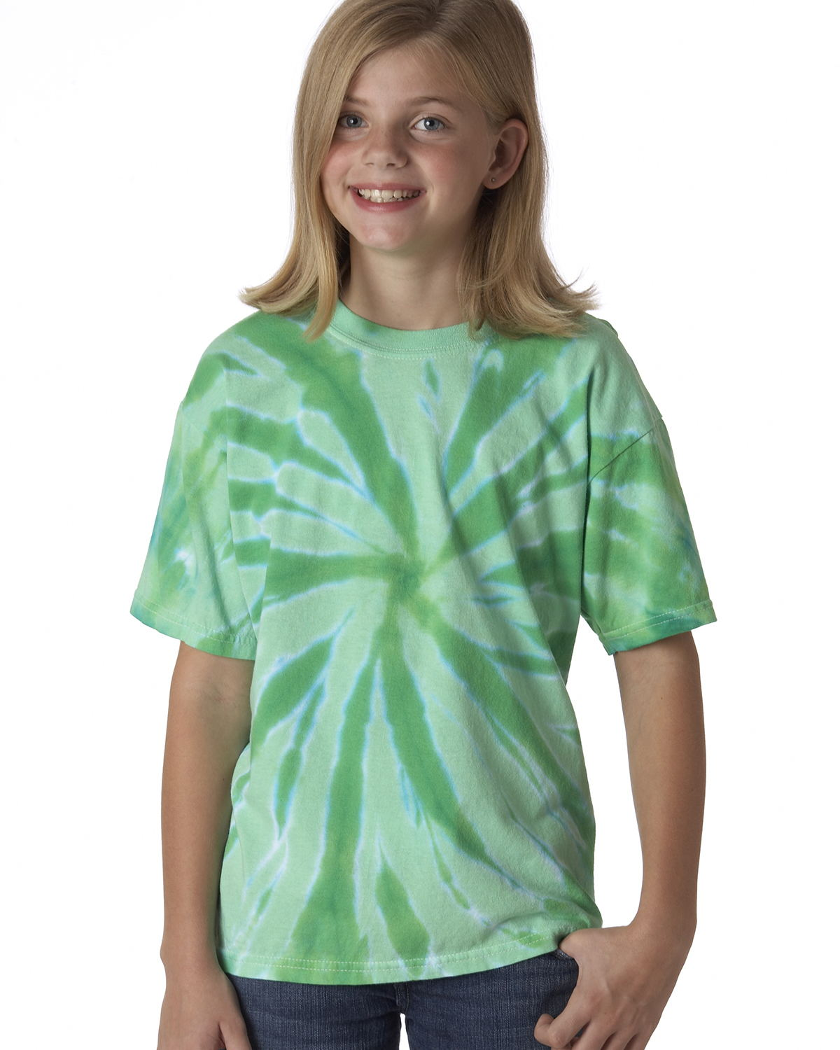 Tie-Dyed 20BTT - Youth Tone-on-Tone Pinwheel Short Sleeve T-Shirt