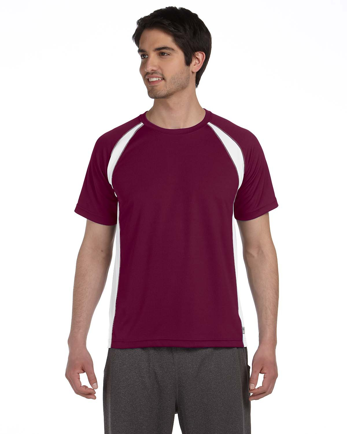 alo M1004 Short Sleeve Colorblock T-Shirt