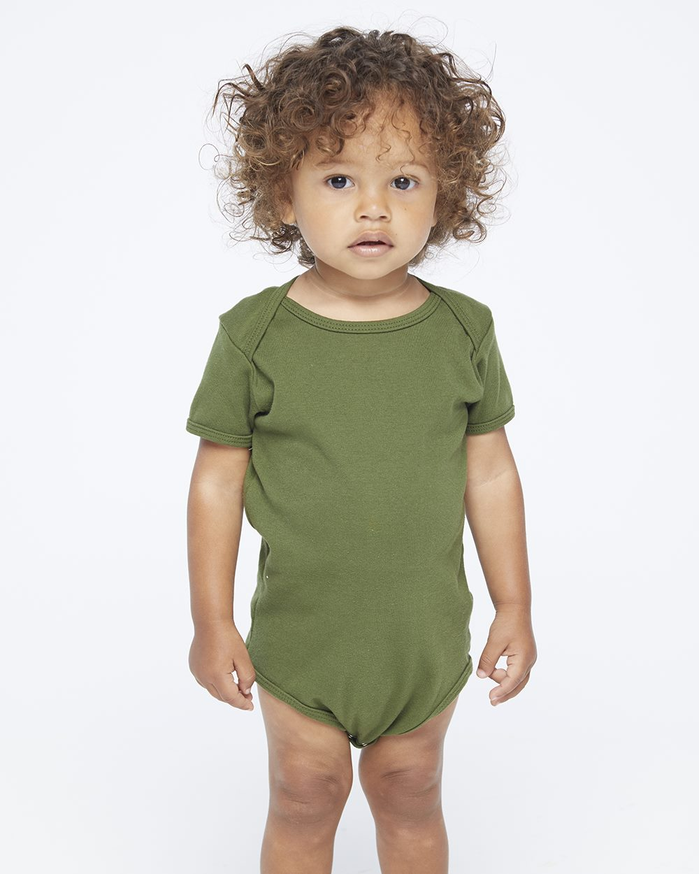 American Apparel 4001W - Infant Baby Rib One Piece