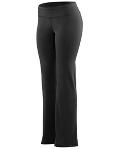 Augusta Drop Ship 4814 - Ladies' Wide Waist Brushed Back Polyester/Spandex Pant
