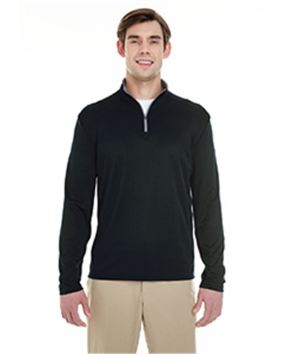 Badger 4102 - Men's Lightweight Long-Sleeve Quarter-Zip Performance Pullover