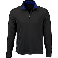 Brooks Brothers BR8105 - Men's Performance Half-Zip Pullover