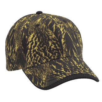 Cobra DCW-C - 6 Panel Duck Camo Wave Sandwich Cap