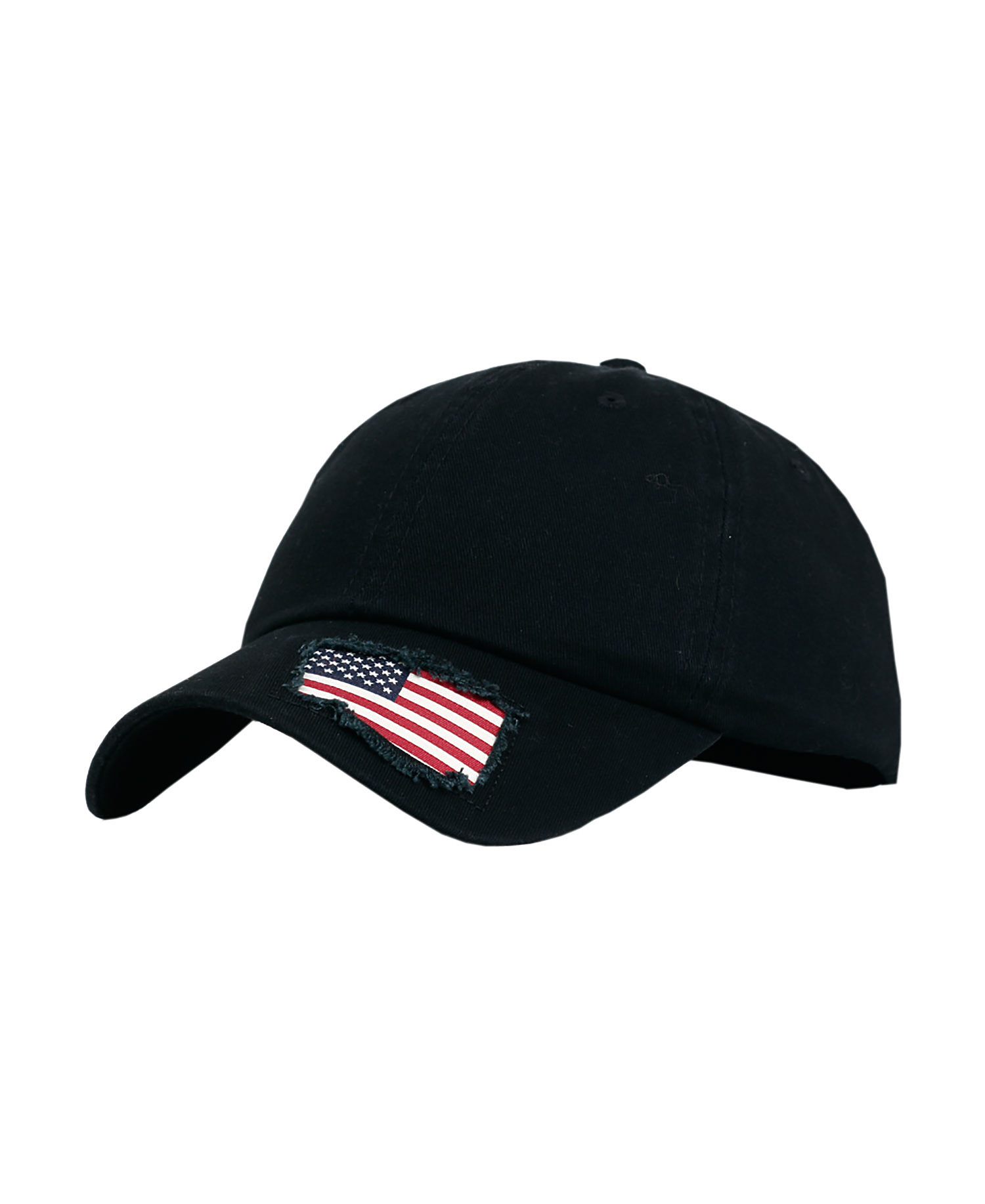 Fahrenheit F0506 - Garment Washed Cotton with Woven Flag Cap
