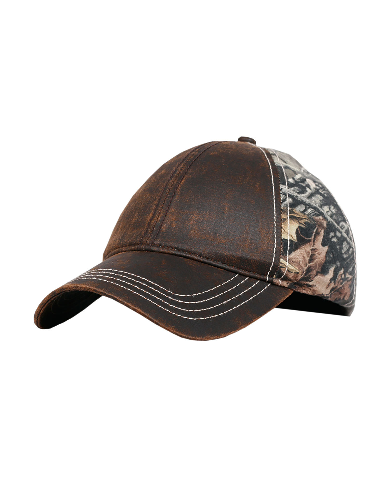 Fahrenheit F0393 - Washed Weathered Twill Superflauge Camo Cap
