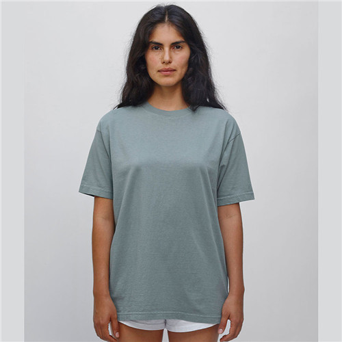 Los Angeles Apparel 1801 - Short Sleeve Garment Dyed Cotton Tee