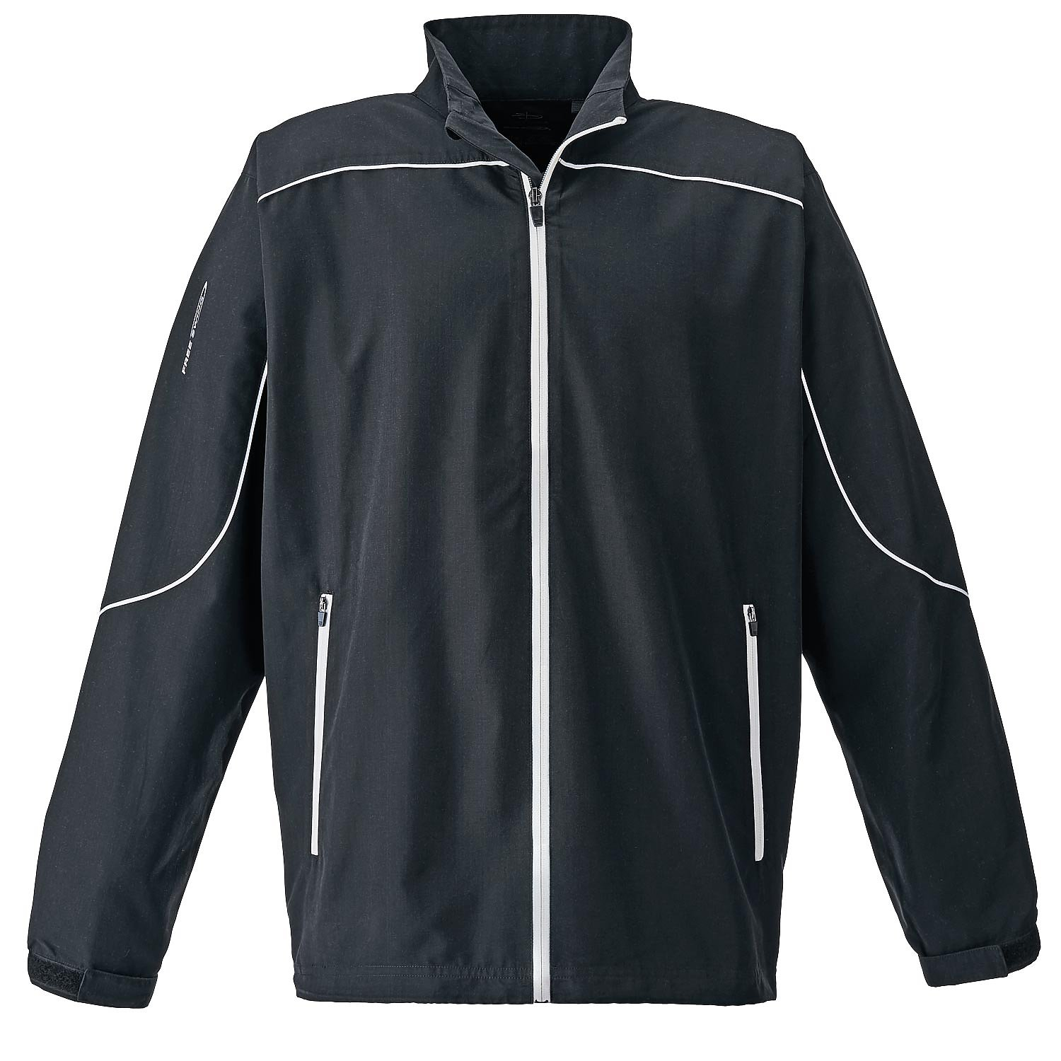 Page & Tuttle P1988 - Men's Piped Full-Zip Long Sleeve Windshirt